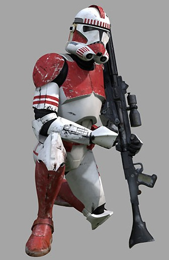 Shock trooper clone