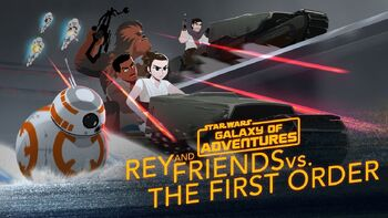 Rey and Friends vs. The First Order