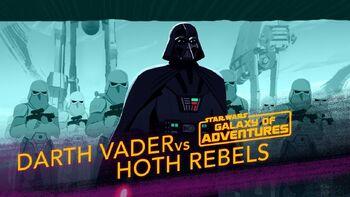 Dark Vador écrase la Rébellion, la bataille de Hoth