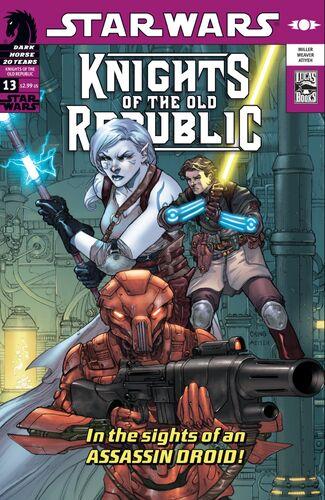 Star Wars: Chevaliers de l'Ancienne République: Jours de terreur