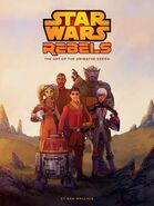 The Art of Star Wars Rebels by Daniel Wallace cover