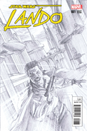 Lando 01 Alex Ross Sketch variant