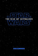The Rise of Skywalker Teaser Poster