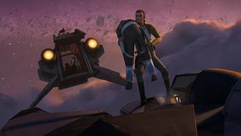 Mission sur la troisième lune de Concord Dawn