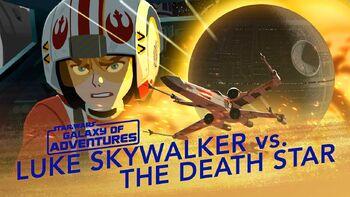 Luke contre l'Etoile de la Mort, assaut X-wing