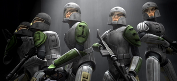 Les Clones cadets