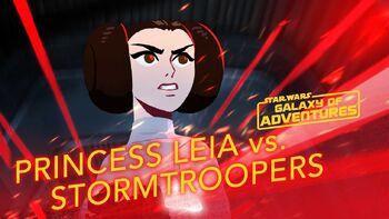Princesse Leia, la libération