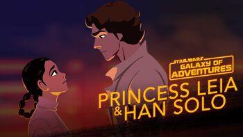 Leia et Han, à la rescousse de Han