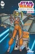 Star Wars Adventures Forces of Destiny Hera