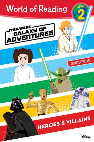 Star Wars Galaxy of Adventures: Heroes & Villains