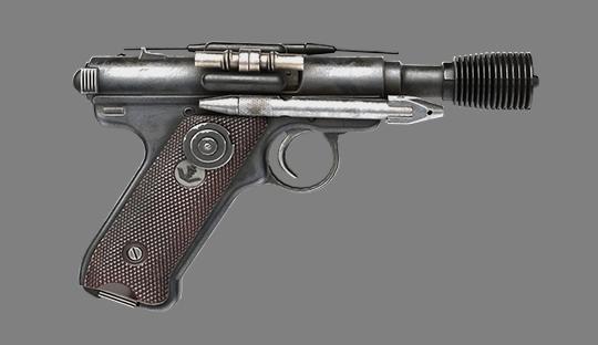 Pistolet blaster lourd DT-12