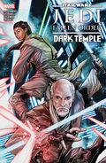 Jedi Fallen Order Dark Temple TPB final cover