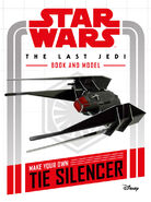 TIE Silencer book and model