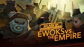 Ewoks contre l'Empire, petits mais féroces