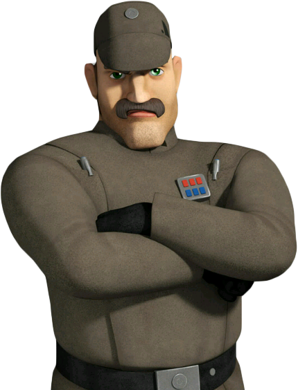 Capitaine du porte-conteneurs Impérial non identifié