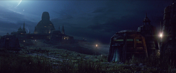Temple Jedi de Luke Skywalker