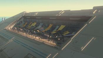 Place du marché du Colossus