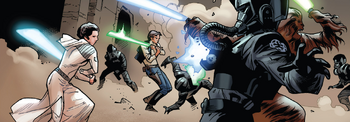 Sauvetage de Luke Skywalker