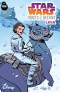 Star Wars Adventures Forces of Destiny Leia