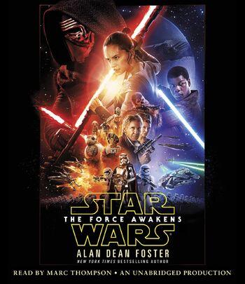 Star Wars épisode VII : Le Réveil de la Force (livre audio)