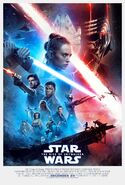 Star Wars The Rise Of Skywalker Affiche VO