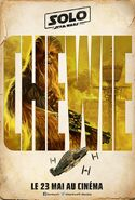 Chewie Solo poster