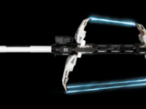 Hache laser