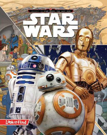 Star Wars : Cherche et trouve - Voyage vers Star Wars : Les Derniers Jedi