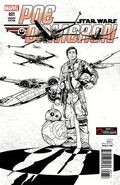 Star Wars Poe Dameron 1 GameStop Sketch