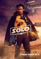 Lando Solo poster uk