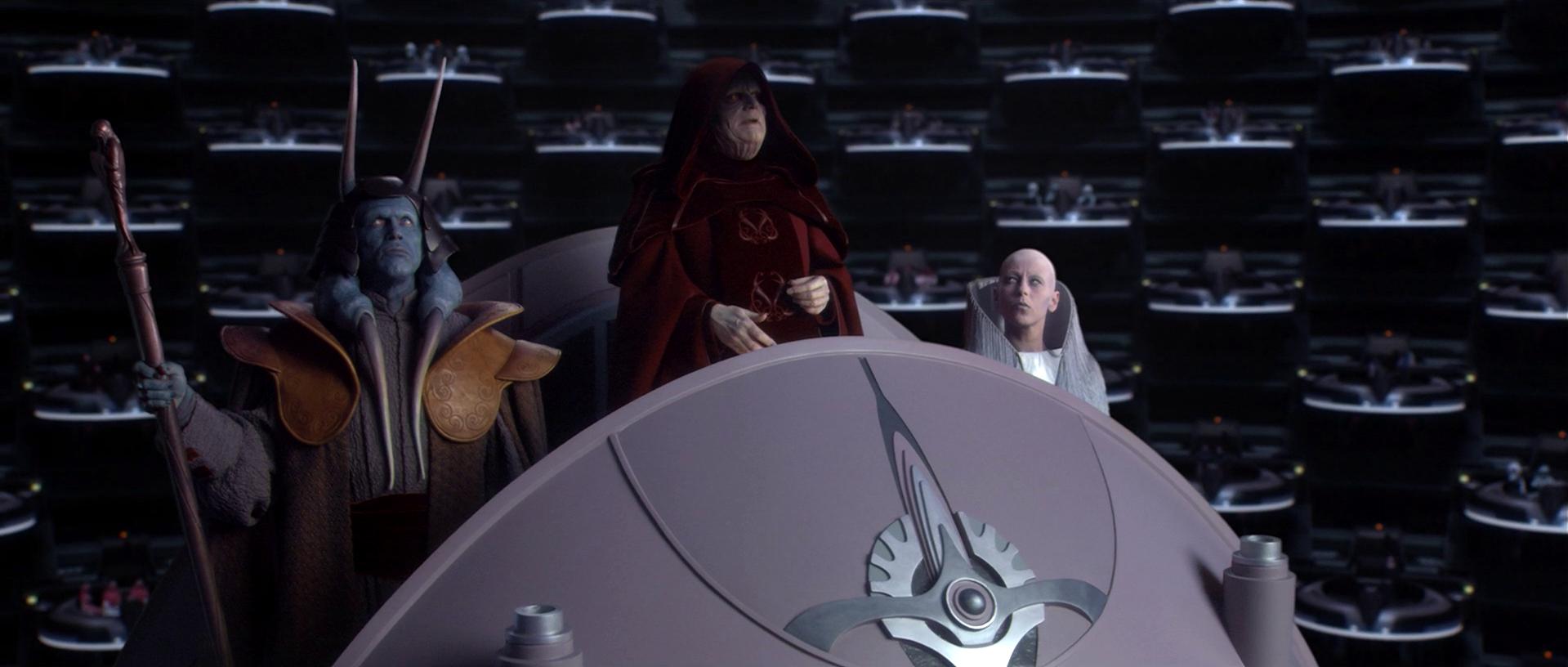 Dissolution du Sénat Impérial