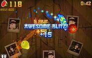 Fruit Ninja awesome Blitz