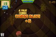 Fruit ninja combo blitz