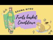 -ENG SUB- Fruits Basket Countdown- Souma Ritsu ✰