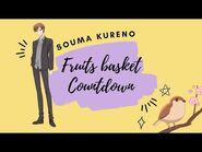 -ENG SUB- Fruits Basket Countdown- Souma Kureno ✰