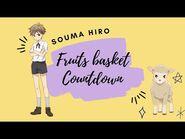 -ENG SUB- Fruits Basket Countdown- Souma Hiro ✰