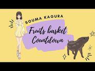 -ENG SUB- Fruits Basket Countdown- Souma Kagura ✰