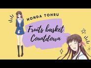 -ENG SUB- Fruits Basket Countdown- Honda Tohru ✰