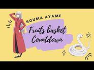 -ENG SUB- Fruits Basket Countdown- Souma Ayame ✰