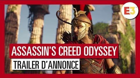 Assassin's Creed Odyssey - Trailer d'annonce E3 2018 OFFICIEL VF HD