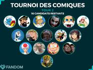 Tournoi de Comiques Tour 2