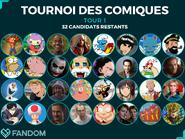 Tournoi de Comiques Tour 1