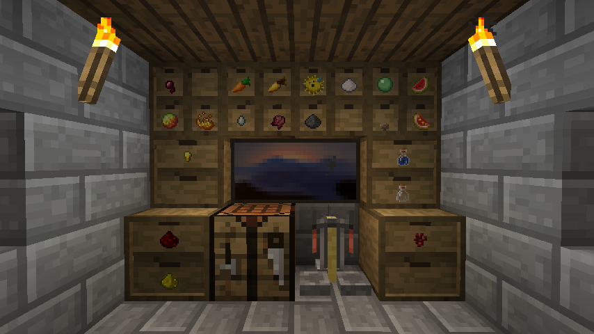 Storage Drawers Official Feed The Beast Wiki