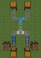 BuildCraft transport pipes route filter.png