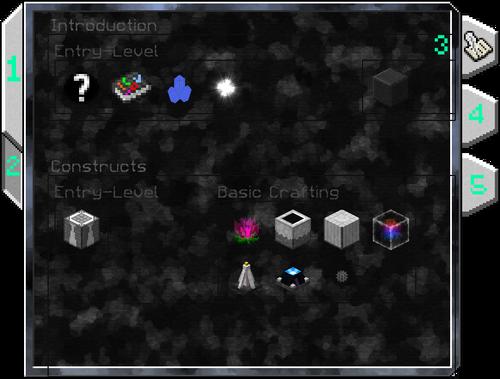 Screenshot of the Lexicon's GUI.