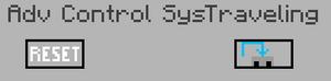 La GUI del sistema de control avanzado