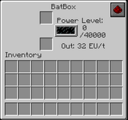 The BatBox GUI