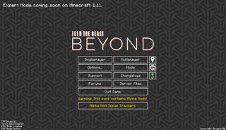 FTB Beyond main menu.png