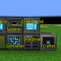 Autocrafting with Refined Storage