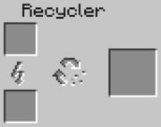 The Recycler GUI